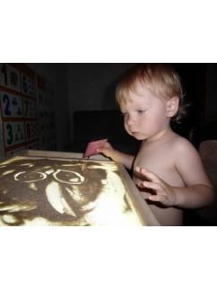 Světelná sada na malování pískem SandArt