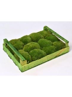MECH KOPEČKOVÝ  Zelený  1m²