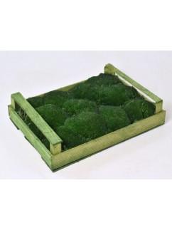 MECH KOPEČKOVÝ  Tmavé Zelený  1m²